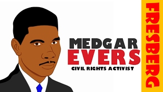 Black History Month Videos: Who is Medgar Evers? (Biography for Students)