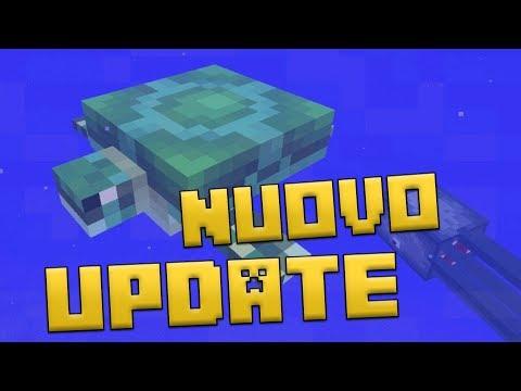 NUOVO MOB OSTILE E TARTARUGHE! - Minecraft Snapshot 18w07c