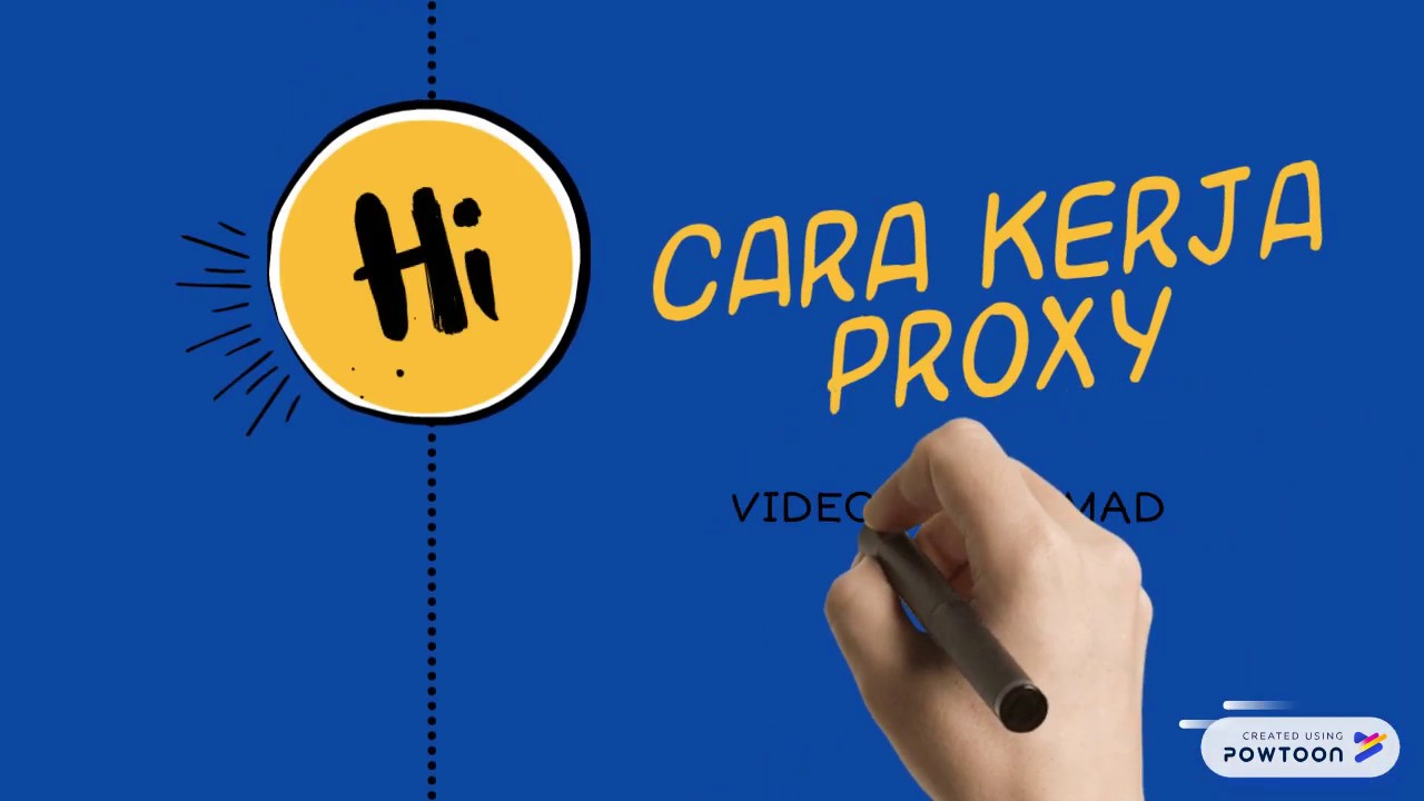 Cara kerja PROXY server - YouTube