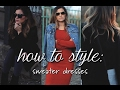 How To Style - Sweater Dresses