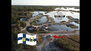 FREI Stehen mit Sonnenuntergang am kleinen Hafen - Finnland Womo Rundreise #12