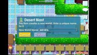 Growtopia #3: How to Using Desert Blast