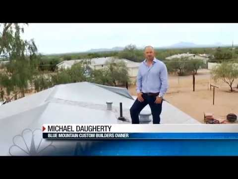 Roof Repair With Blue Mountain Custom Builders on KVOA Tucson