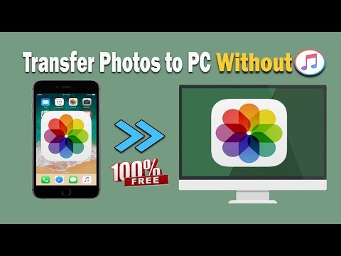 Transfer Photos from iPhone to PC 2018   Without iTunes and ...
