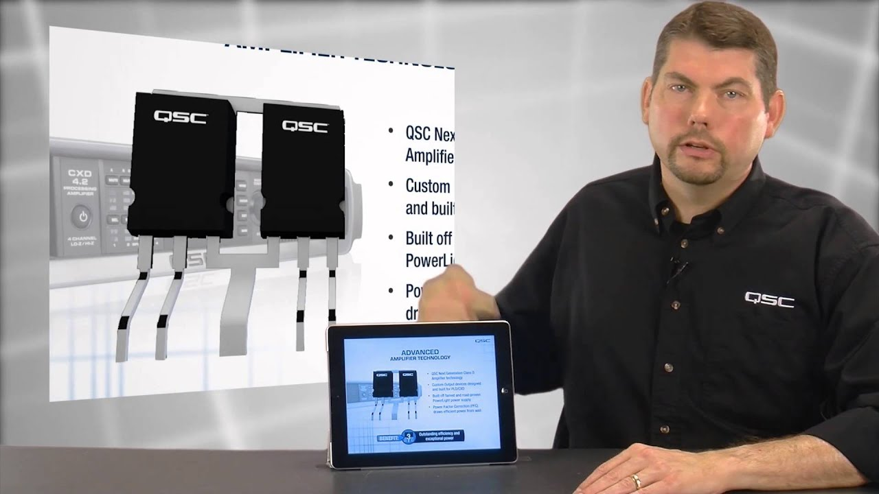 QSC PLD and CXD Amplifiers -- Quick Overview | Full Compass