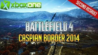 Battlefield 4 (BF4) Xbox One X Multiplayer Gameplay - Caspian Border 2014 Attack Helicopter UHD