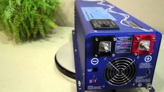1500 watt 12 volt low frequency AIMS Power solar inverter charger