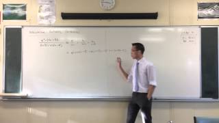 Partial Fractions (example with cubic denominator)
