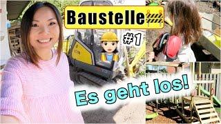 Wir BAUEN 🏡 Baustelle zu Hause! Klettergerüst + Geburtstagsgeschenke | Mama Alltag | Mamiseelen