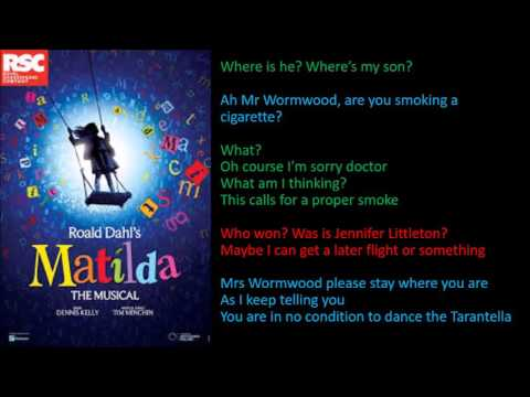 Matilda the Musical - Miracle full backing track