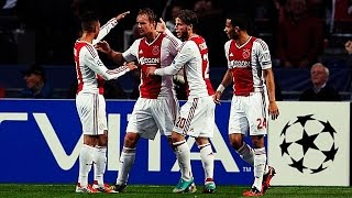 Memorable Match ► Ajax 3 vs 1 Manchester City - 24 Oct 2012 | English Commentary