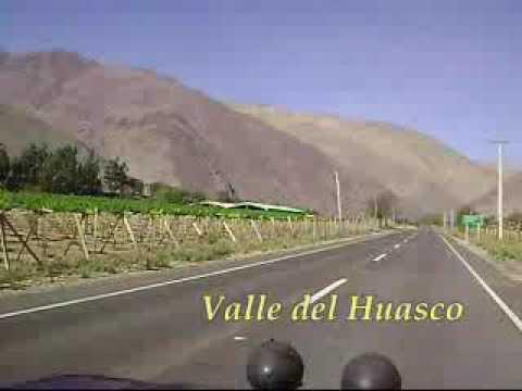 VALLE DEL HUASCO, DESDE VALLENAR A CHANCHOQUIN