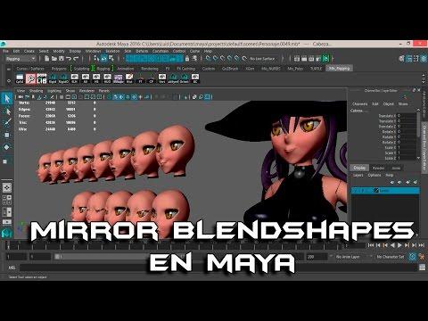 Maya BlendShapes Creating and Animating Tips And Tricks – CreateCG