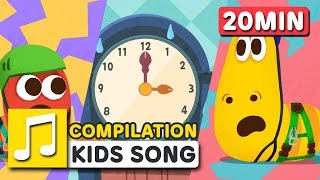 LET'S GO AN ADVENTURE | COMPILATION  | Nursery Rhymes | LARVA KIDS Songs for Children
