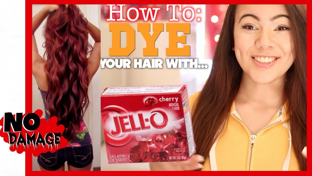 How to dye your hair with jell o youtube youtube premium solutioingenieria Image collections