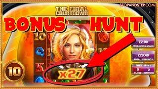 BIG Bonus Hunt: Final Countdown, Magic Mirror RE-TRIGGER & MORE!!