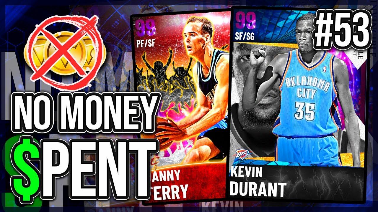 NO MONEY SPENT #53 - A DARK MATTER FINALLY POPPED UP IN TTO BUT.....NBA 2k21 MyTEAM