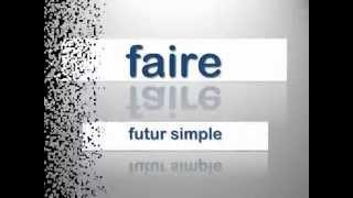 Frans faire futur simple