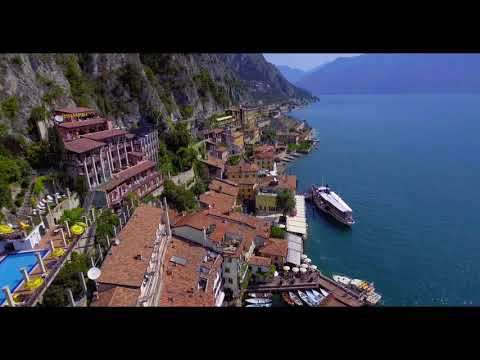 Limone Sul Garda Aerial - Italy by Bitsaerial