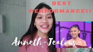 Best Performance ANNETH - JEALOUS(LABRYNTH) 'REACTION'  INDONESIAN IDOL JUNIOR 2018