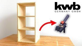 Mit dem Dübelprofi einfach und schnell Regal selber bauen | Anleitung