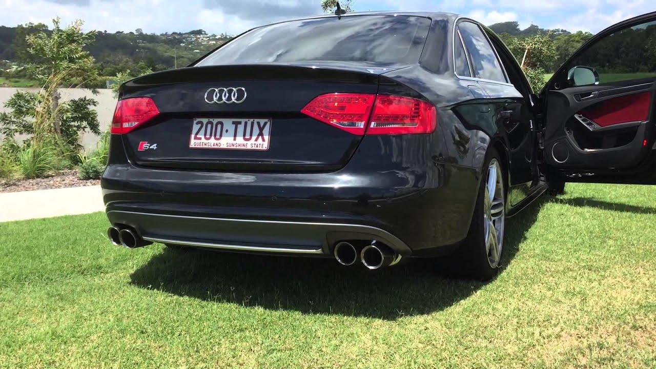 Fi Exhaust Sound Audi S4 3 0tfsi By Euro Car Upgrades Australia