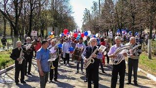 Первомайская демонстрация, Алексин, 2018
