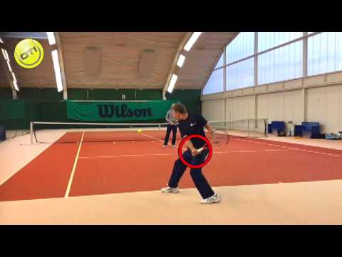 Private Lesson Case Study: Before/After Analysis One-Handed Backhand
