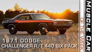 1971 Dodge Challenger R/T 440 Six Pack Muscle Car Of The Week Video Episode 239 V8TV