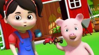 Les couleurs de la ferme | Apprendre des couleurs | Vidéos pour enfants | Colors Of The Farm Song