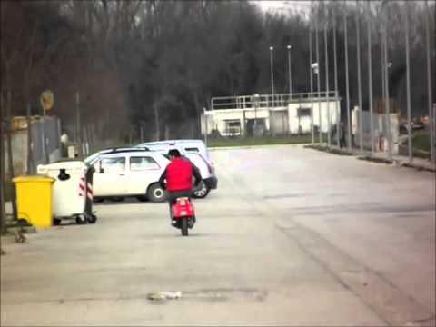Prova Vespa 140 cc