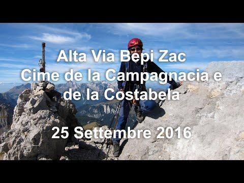Alta Via Bepi Zac - 25 Settembre 2016 - Vie Attrezzate