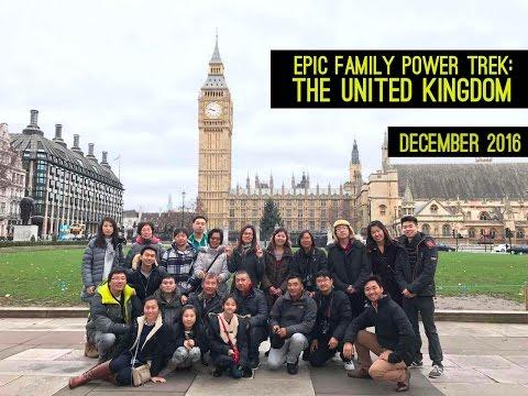 TRAVEL VLOG THING: A FAMILY POWER TREK THROUGH THE UK