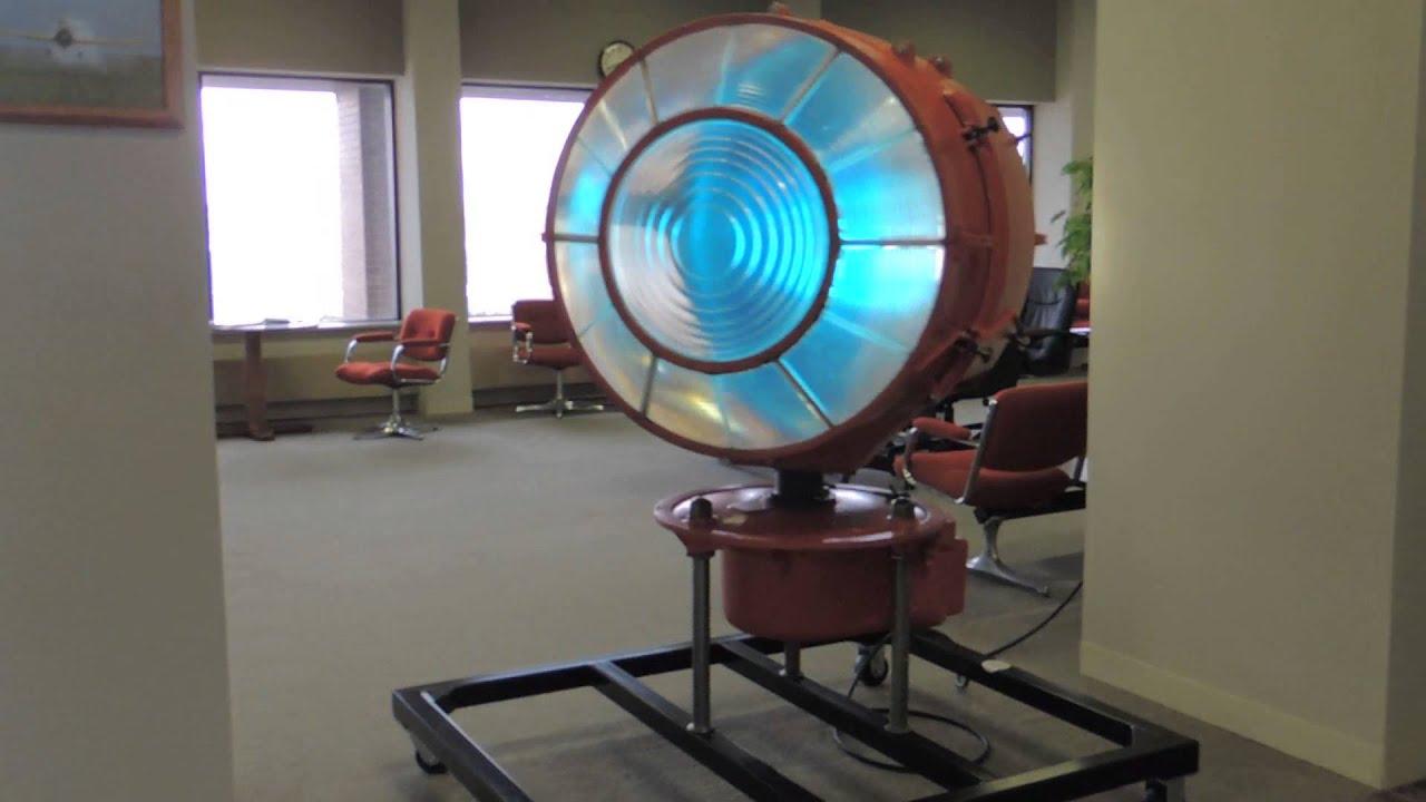 Fairmont Airport S Rotating Beacon Youtube
