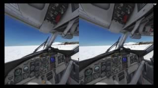 P3D, Twin Otter, McMurdo St., Antarctica NZIR in VR