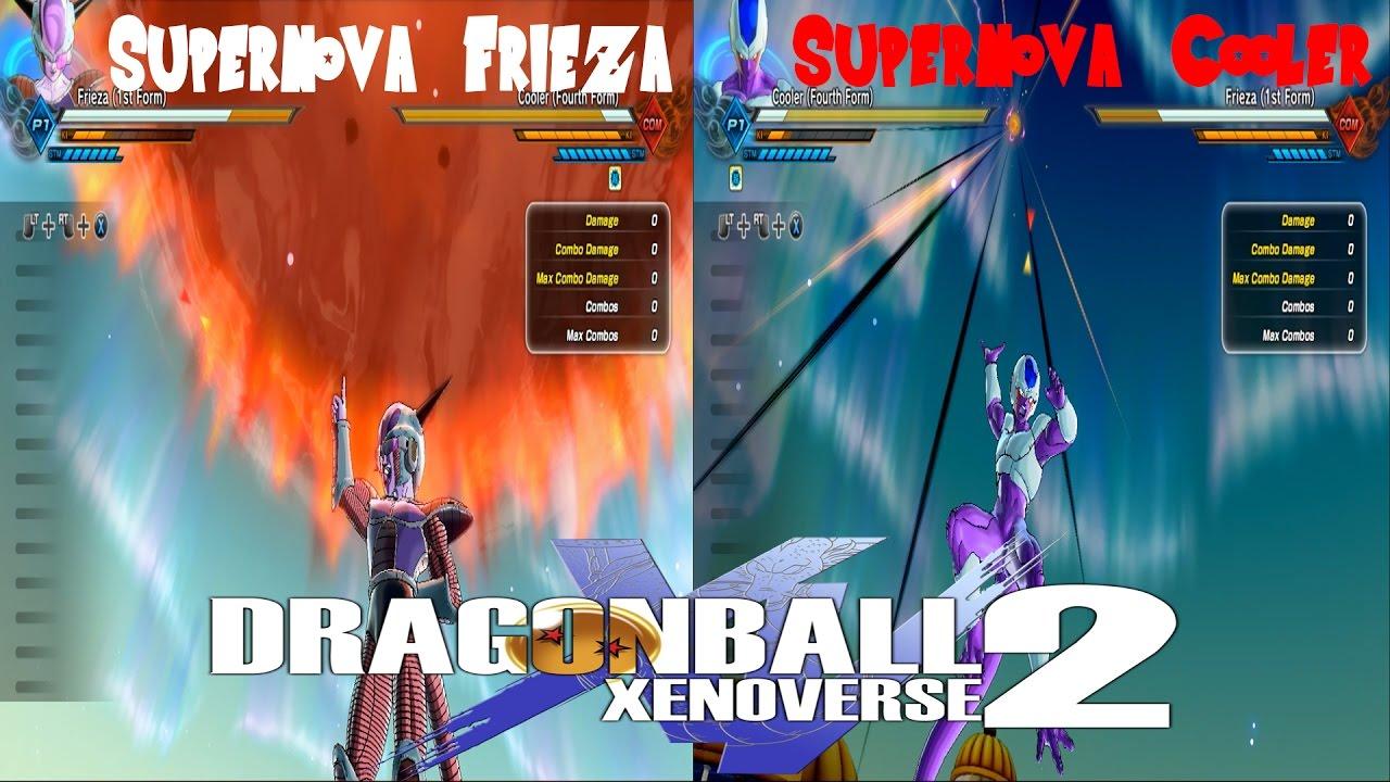 Supernova Frieza VS Supernova Cooler Dragon Ball Xenoverse ...