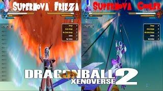 Supernova Frieza VS Supernova Cooler Dragon Ball Xenoverse 2