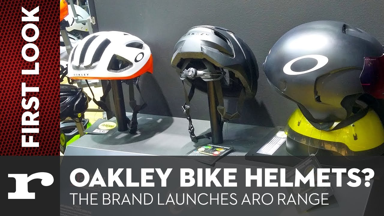 37e11b22ff151 Oakley BIKE HELMETS  The brand launches their ARO helmet range - YouTube