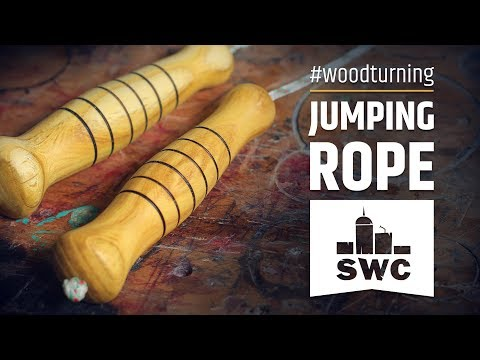 How to make a skipping rope - woodturner's maintenance