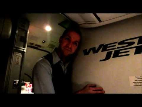 Part 3: Hilarious Westjet flight attendant and Tommy land in Ottawa