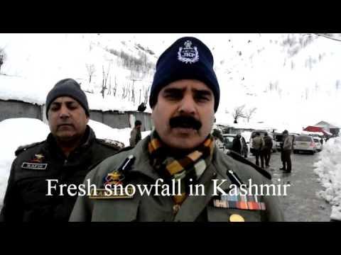 FRESH SNOWFALL IN KASHMIR (CAMERA FAROOQ SHAH / SHEIKH MASHOOQ)