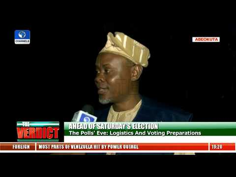 Polls' Eve: Logistics And Voting Preparations Pt.8  The Verdict 