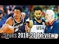 San Antonio Spurs 2019-20 NBA Season Preview
