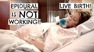 Christina Goes Into Labor | LIVE BIRTH!