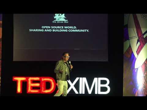 Digital Disruption in Underground Cinema | Qaushiq Mukherjee (Q) | TEDxXIMB