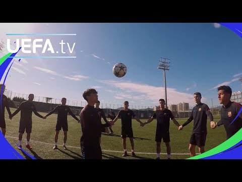 Barcelona step up for the skills challenge