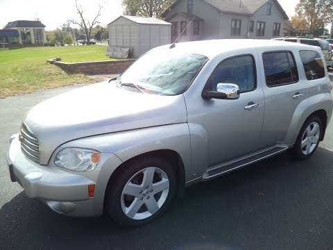 Test Driving A 2008 Chevrolet HHR LT