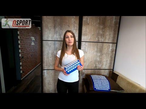 [Обзор] - Акупунктурный массажный коврик + подушка аппликатор Кузнецова от OSPORT