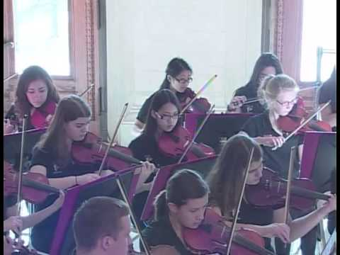 2013 Holiday Concerts: Cranston High School West String Orchestra