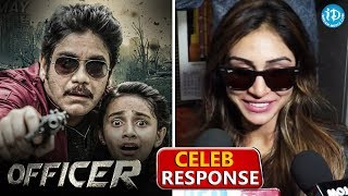 Actress Myra Sareen Response About Officer Movie | Nagarjuna Akkineni || Ravi Shankar